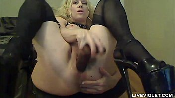 in hot stockings black super blond and heels Brother fuck sister family sleeping