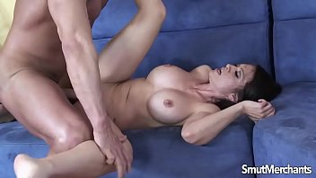 brunette ass cock a up the takes Wife gives son handjob