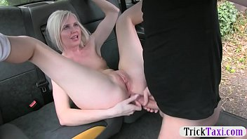blond up sexed babe getting French moms seduces a boy and gives her ass