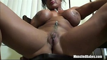 fake riding3 tits Cum in chastity tube