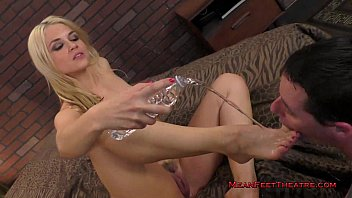 french francaise feet foot worship Two girls with huge boobs grope