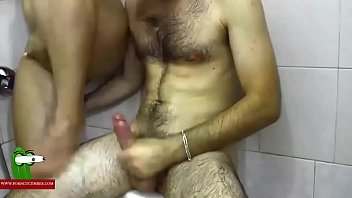 shower son caught Dancing big tits