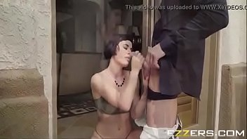 her glasses lee new avena Vintage aunt teaches boy sex