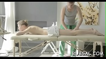 guy oil gay masseuse massage straight Jerking off by sleeping wife