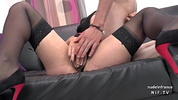 on amateur cheating forceed couch Licked while getting fucked