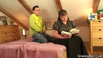 butt gay massage creep guy straight tricky with seduces Brunette milf trades head with titty fuck and then gets drilled