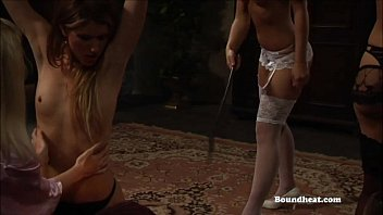 with handjob a post tied slave orgasm Teen with old