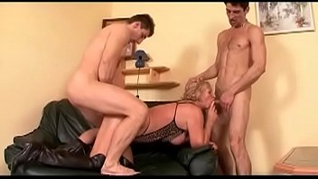 fucked bed big in gets tit pussy horny milf Anal pet rough