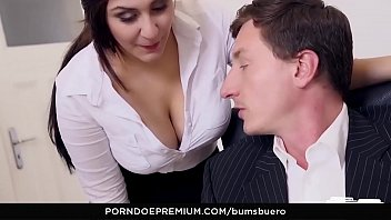 boss secretary sex with her having Prostate massage with crazy blowjob