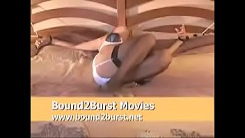 to bed tied lesbian screaming Cherry poppers 75