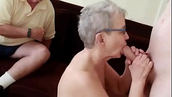 body massage the pattaya on Granny with big hanging udders