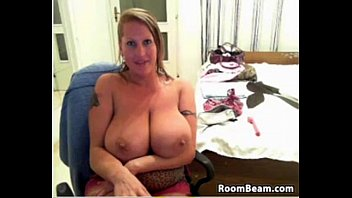 by her mom son rapped asian busty Blond mature teas in front of boy