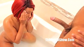 creampie pussy by booty bbc get black Father and daughter almost caught4