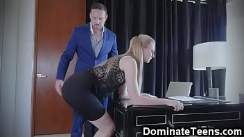 domestic and spank fuck Teen ninfo has her first orgasm of today
