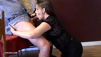 pumped from cavanni behind getting capri loves Asian massage ans swallows6